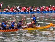 Edmonton smoka łodzi festiwal Obraz Stock