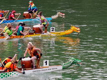 Edmonton smoka łodzi festiwal Fotografia Stock