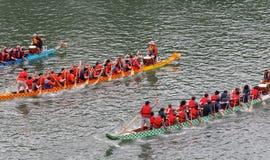 Edmonton smoka łodzi festiwal Zdjęcia Royalty Free