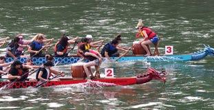 Edmonton smoka łodzi festiwal Zdjęcie Stock