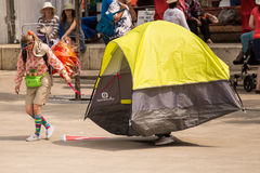 Edmonton Street Performers Festival 2017 Royalty Free Stock Photography