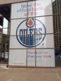 Edmonton street view Stock Images