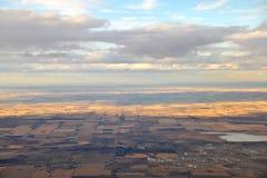 Edmonton Vorstadt von der Luft Lizenzfreies Stockfoto