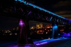 Edmontons Alberta High Level Bridge stockbild