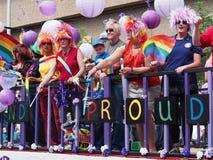 Edmontons Pride Parade 2013 Stockfotografie