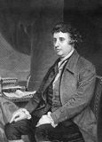 Edmundo Burke imagen de archivo libre de regalías