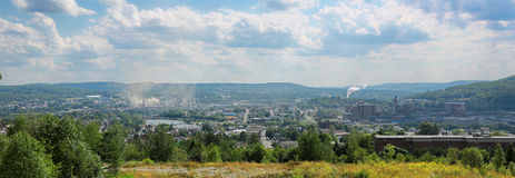 Edmundston, New-Brunswick, Canada. In the Atlantic provinces stock images