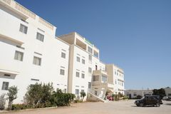 Edna Adan University Hospital é situada em Hargeisa, república de Somaliland Fotografia de Stock Royalty Free
