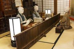 Edo age Japanese shops Royalty Free Stock Photography
