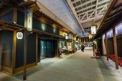 Edo Market Place dans l'aéroport de Haneda Images libres de droits