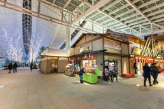 Edo Market Place in Haneda Airport Royalty Free Stock Photography