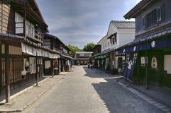 Edo period street, Japan Royalty Free Stock Photography