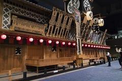 Edo Tokyo museum interior, house built as in the Edo period Stock Photos