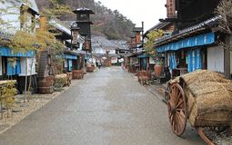 Edo Wonderland, Giappone immagine stock libera da diritti