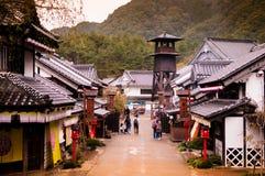 Edo Wonderland, Nikko Edomura, Giappone immagini stock