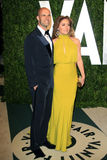 Edoardo Ponti, Sasha Alexander, Vanity Fair Royalty Free Stock Photo