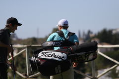 Edouard Dubois at Andalucia Golf Open, Marbella Royalty Free Stock Photos