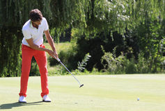 Edouard Espana at Le Vaudreuil golf challenge, France Stock Photography