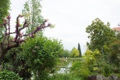 Edouard VII parc, Lisbonne (Lisbonne), Portugal Images stock