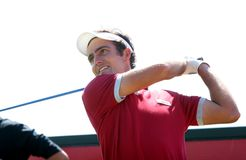 Edouardo Molinari in Crans-montana golf Masters Royalty Free Stock Photo