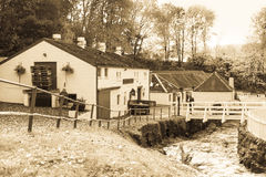 Edradour distillery, Scotland Royalty Free Stock Photos