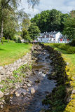 Edradour whisky distillery in Pitlochry, Scotland Royalty Free Stock Image