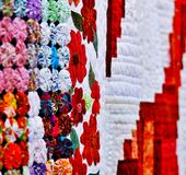 Edredões de Denver Fair imagens de stock