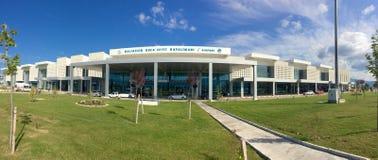 Edremit koca Seyit International airport.Previously known as Balikesir Edremit Korfez Airport.The Royalty Free Stock Photo
