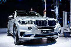 edrive的BMW X5 免版税库存图片