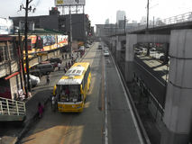 EDSA Philippines Main High-Way royalty free stock photography