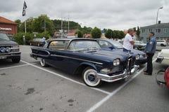 1958年Edsel海盗4门轿车Hardtop 库存照片