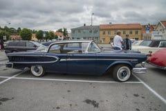 1958年Edsel海盗4门轿车Hardtop 库存图片