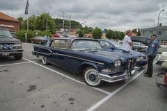 1958年Edsel海盗4门轿车Hardtop 免版税库存图片