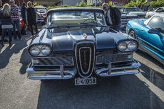 1958年Edsel海盗4门Hardtop 免版税库存图片