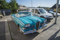 1958 Edsel Pacer Convertible Royalty-vrije Stock Fotografie