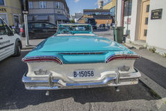 1958 Edsel Pacer Convertible Stock Afbeelding