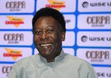 Edson Arantes font Nascimento - Pelé Photo stock