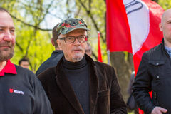 Eduard Limonov, russian nationalist writer and political dissident, founder and former leader Stock Images
