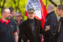 Eduard Limonov, russian nationalist writer and political dissident, founder and former leader Stock Photography