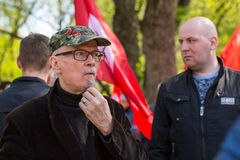 Eduard Limonov, russian nationalist writer and political dissident, founder and former leader Stock Photos