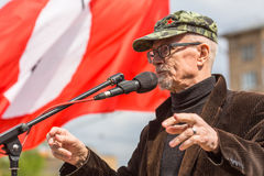 Eduard Limonov, russian nationalist writer and political dissident, founder and former leader Royalty Free Stock Photo