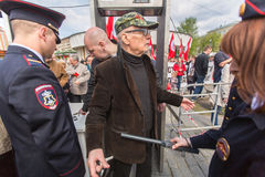 Eduard Limonov, russian nationalist writer and political dissident Stock Photo