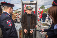 Eduard Limonov, russian nationalist writer and political dissident Stock Photography