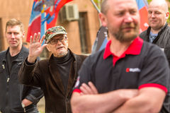 Eduard Limonov, russian nationalist writer and political dissident Royalty Free Stock Images