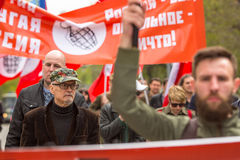 Eduard Limonov, russian nationalist writer and political dissident Royalty Free Stock Photo