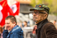 Eduard Limonov, russian nationalist writer and political dissident Royalty Free Stock Image