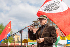 Eduard Limonov, russian nationalist writer and political dissident Royalty Free Stock Photography