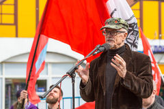 Eduard Limonov, russian nationalist writer and political dissident Stock Images