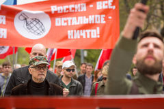 Eduard Limonov, russian nationalist writer and political dissident Stock Photos