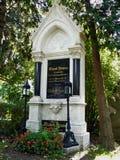 Eduard Strauss grób młody Strauss syn Wiedeń fotografia royalty free